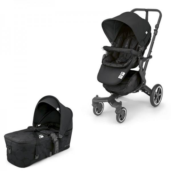 Concord - Βρεφικό Kαρότσι Duo Neo Plus Baby Set Shadow Black 2 σε 1
