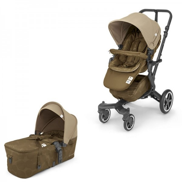 Concord - Βρεφικό Kαρότσι Duo Neo Plus Baby Set Tawny Beige 2 σε 1