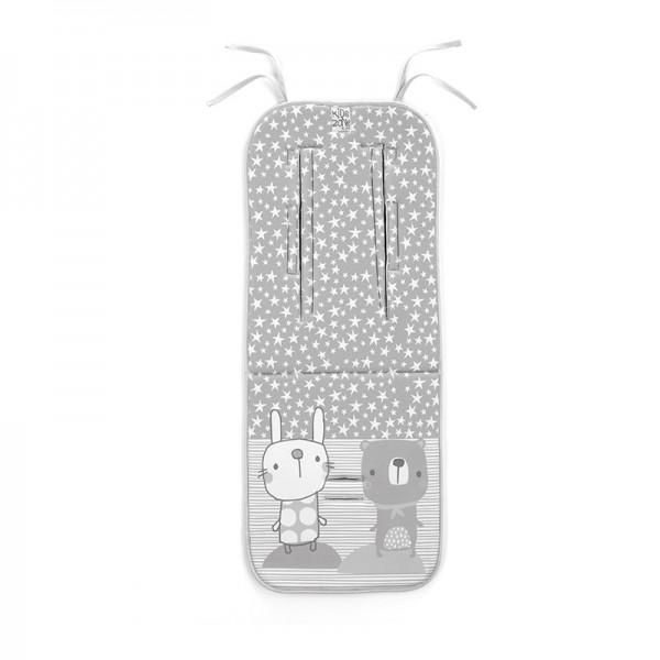 Jane - Universal αναπνέυσιμο μαξιλάρι καροτσιού Star