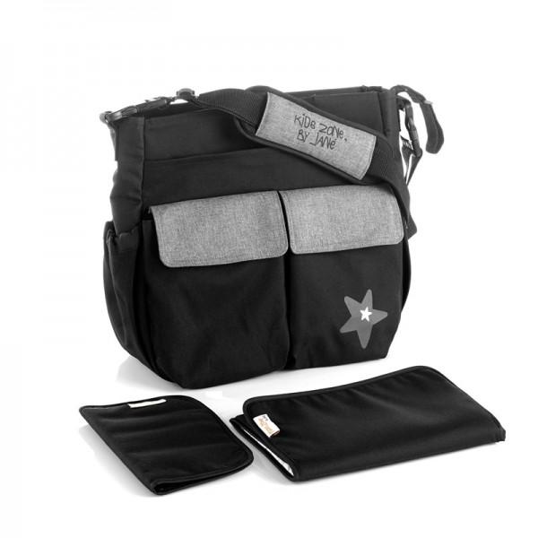 Jane - Τσάντα αλλαξιέρα Mama bag black