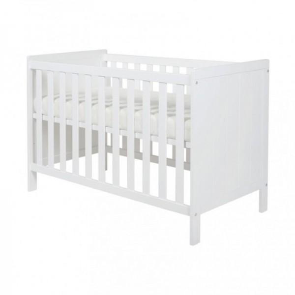Kidsmill - Βρεφικό κρεβάτι Ralph Λευκό 70x140